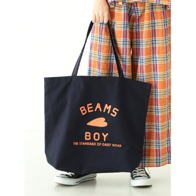 [Rakuten BRAND AVENUE]BEAMS BOY / BB ロゴ TOTE BAG (L) BEAMS BOY ビームス ウイメン バッグ【送料無料】