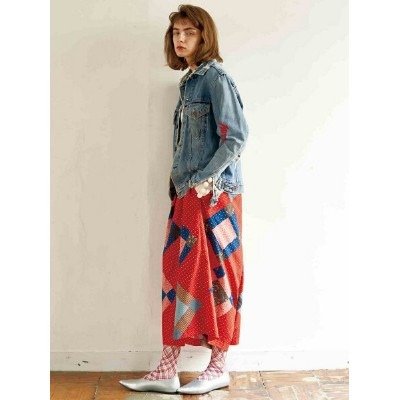 [Rakuten BRAND AVENUE]maturely / MUSE Sarrouel Pants マチュアリー BEAMS BOY ビームス ボーイ パンツ キュロット BEAMS BOY...