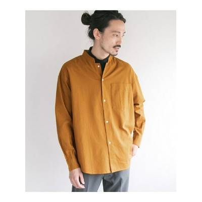 [Rakuten BRAND AVENUE]LOOSE FIT STAND COLLAR SHIRTS URBAN RESEARCH アーバンリサーチ シャツ/ブラウス【送料無料】