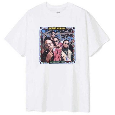 【1993 DESIGNED WORLD HIPHOP】BRAND NUBIAN ART TEE(WHITE)