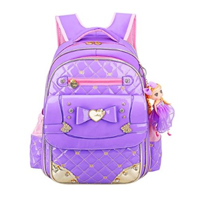 Zhhlinyuan 超軽量 Cute Waterproof Girl 子供たち Kids Bags Backpack for Travel School Prechool Candy Color...