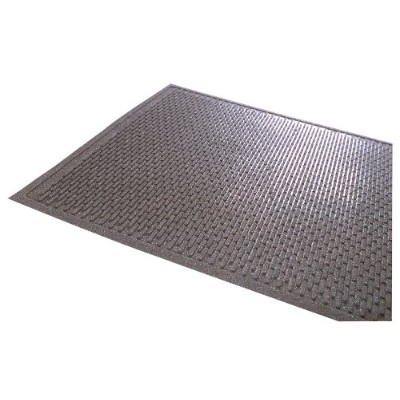 Notrax 350 Soil Guard with Grit Natural/Styrene-Butadiene Rubber Entrance Mat, For Outdoor Area, 3'...