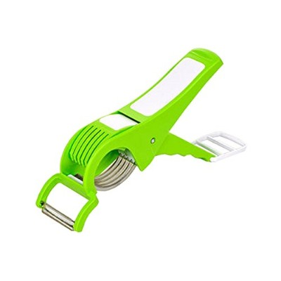 Multi Cutter With Peeler For Vegetable And Fruit Extra Sharp Stainless Steel, Mother's Day Gift