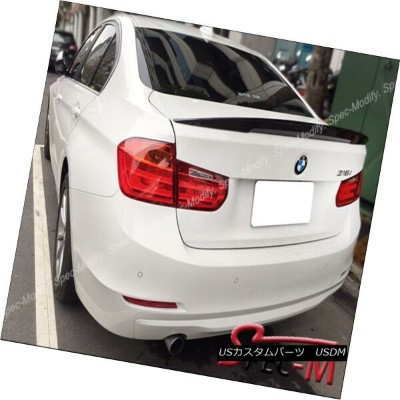エアロパーツ High Kick Performance II Carbon Fiber Trunk Lip Spoiler For BMW F80 M3 Sedan ハイキックパフォーマンスIIカー...
