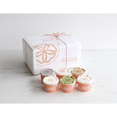 Japanese Ice OUCA【定番】六味ギフト (150mlカップ×6個入)