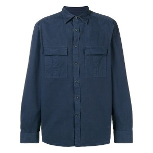 Ck Calvin Klein long-sleeve shirt - ブルー