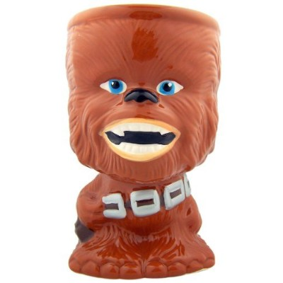 Star Wars Chewbacca Chewie Unique Collectible 5 3/4 Inch Ceramic Goblet Coffee Drink Mug Cup by...