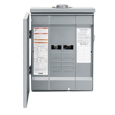 Square D by Schneider Electric hom816l125prb Homeline 125Amp 8-space 16-circuitアウトドアラグメインロードセンター...