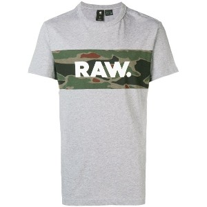 G-Star Raw Research military RAW T-shirt - グレー
