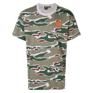 G-Star Raw Research camouflage T-shirt - グリーン