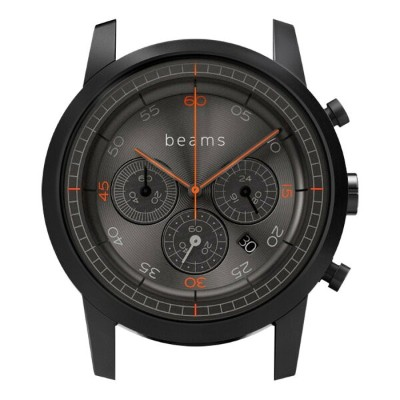 wena wrist Chronograph Premium Black BD -beams edition- Headソニー Sony スマートウォッチ IoT iOS Android...