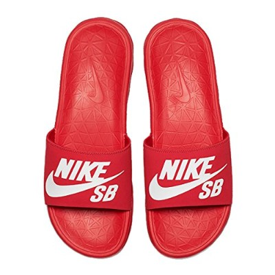 ナイキ エスビー (NIKE SB) BENASSI SOLAR SOFT (UNIVERSITY RED/WHITE) 26cm サンダル