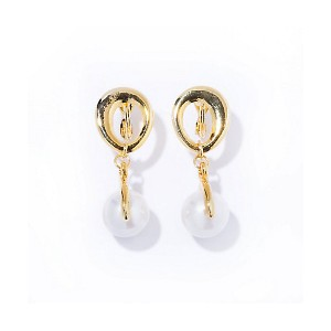 IRIS47  chein pearl earring(INU1) gold 【三越・伊勢丹/公式】 アクセサリー~~その他