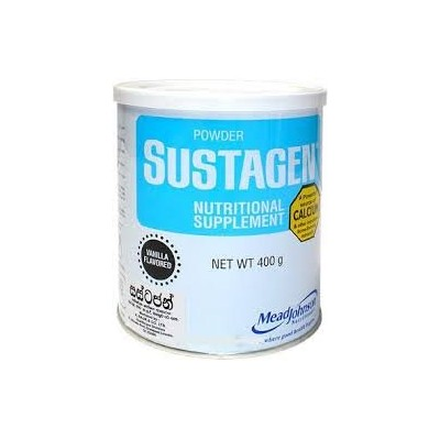 Sustagen Vanilla Flavor Nutritional Supplement 400g Tin Milk Powder