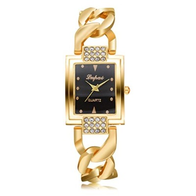 腕時計、balakie FemalesブレスレットWatch Square Face Women Crystal Small Watch