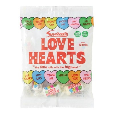 Swizzels スゥイッチェル LOVE HEARTS ラムネ