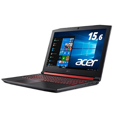 Acer AN515-52-A58H (Core i5-8300H/8GB/128G SSD+1TB HDD/ドライブなし/15.6型/Windows 10 Home(64bit)/シェールブラック)
