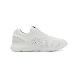 Z Zegna perforated slip-on sneakers - ホワイト