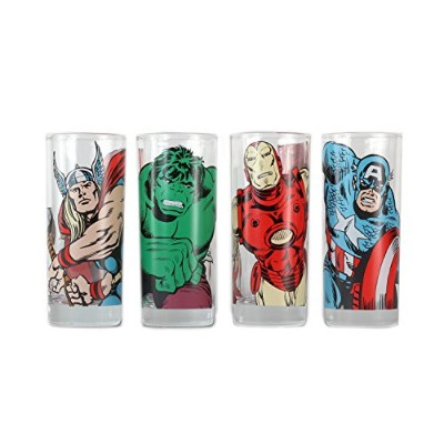 MARVEL - CHARACTERS (SET 4 BIC