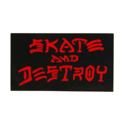 THRASHER ステッカー SKATE&DESTROY SM (Men's、Lady's、Jr)