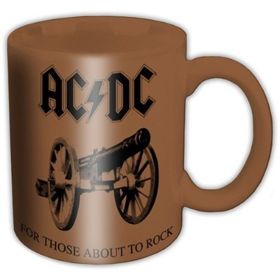 AC / DC Boxed Mug For Those About to Rock