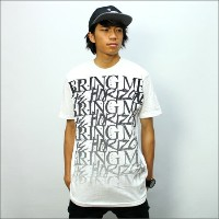 ◎BRING OF THE HORIZON Tシャツ BMTH STACKED 白