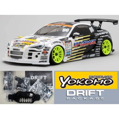 ヨコモ ドリパケ Team UP GARAGE FALKEN 86 #DP-UF86A