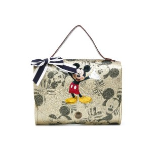 Monnalisa Mickey Mouse shoulder bag - ニュートラル