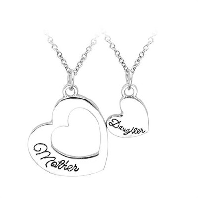 (Style 2) - Bling Stars Mother's Day Gifts From Daughter Mother Daughter Two-Piece Pendant Necklace