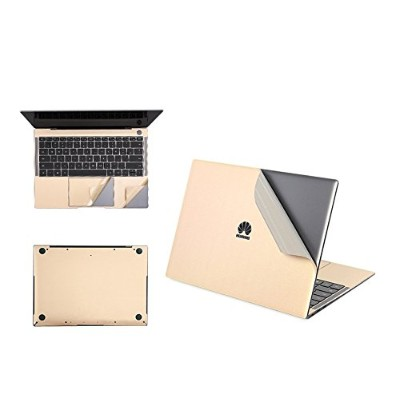 【M&Y】Huawei MateBook X Pro フィルム 保護フィルムキット 本体/背面/パッド保護一式 プロテクターフィルムステッカー MateBook X Proフィルムステッカー「全4色...