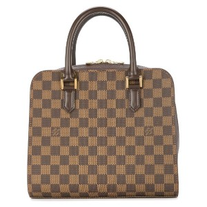 LOUIS VUITTON PRE-OWNED トリアナ ダミエ ハンドバッグ - ブラウン