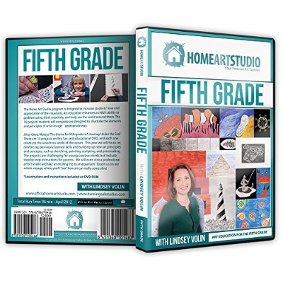 ホーム学校アートStudioプログラムDVD WITH LINDSEY Volin 5th Grade