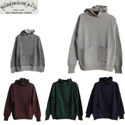 WAREHOUSE☆Lot.453 DUCK DIGGER セパレートポケットセットインフード SEPARATE POCKET SET IN FOOD★WHSW-15AW017(スウェットパーカー)...