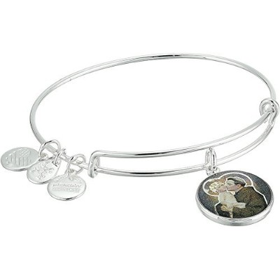 Alex and Ani Womens Holy Ones、聖Anthonyブレスレット One Size メタリック