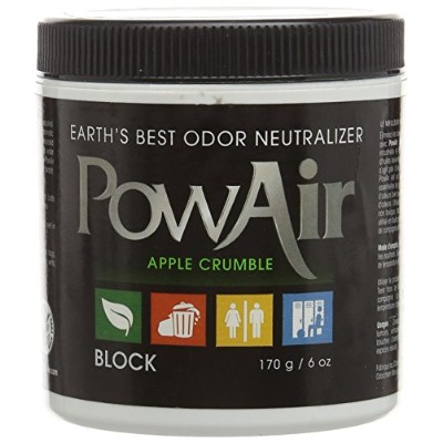 Earth 's Best Odor Neutralizer POWAIR Apple Crumbleブロック