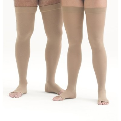 Mediven Forte 40-50 mmHg Open Toe Thigh Highs w/ Silicone Top Band Size: Size III (3) Standard -...