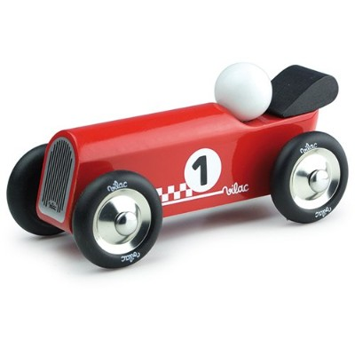 Vilac Old Convertible Toy Car, Red by Vilac