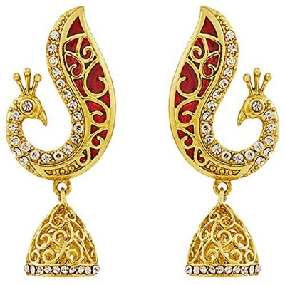 AparaピーコックデザインMeenakari Earring for Women