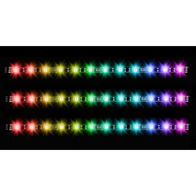Thermaltake Pacific Lumi Plus LED Strip 3Pack PCケースアクセサリ XX1432 CL-O014-PL00SW-A