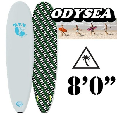 "CATCH SURF (キャッチサーフ)MCGEE8'0-WhiteLOG X DFW EDITION Barry Mcgee Sidebitefin8'0""/White"
