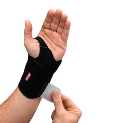 3 Point Products Wrist Wrap, Black, Medium/Large, 1.1 Ounce by 3-Point Products