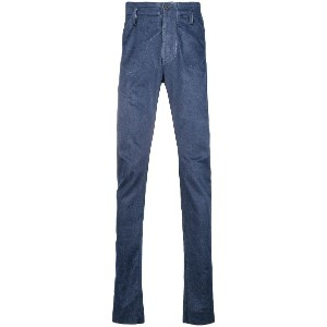 Lost & Found Ria Dunn darted slim flit trousers - ブルー