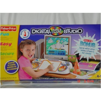Digital Art Studio with Bonus Software by Fisher-Price [並行輸入品]