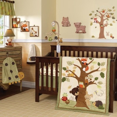 Lambs & Ivy 7 Piece Crib Set - Echo by Lambs & Ivy