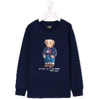 Ralph Lauren Kids Polo Bear sweatshirt - ブルー