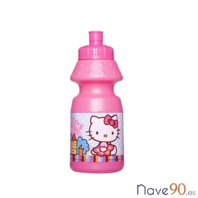 Hello Kitty Pop Up Canteen Water Bottle 18 X 7 CM 7.1 X 2.8 INCH 57-65235