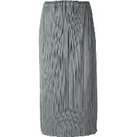 Pleats Please By Issey Miyake プリーツ装飾 スカート - グレー