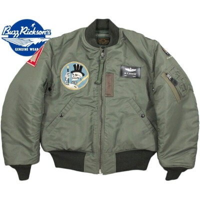 "BUZZ RICKSON'S/バズリクソンズ Jacket,Flying,Intermediate Type MA-1 ""LION UNIFORM INC.""95th Fighter..."