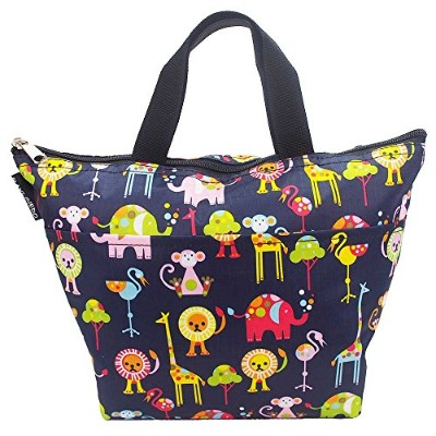 (Animal) - RayLineDo Portable Lovely Reusable Picnic Lunch Carry Bag Box Tote Travel Organiser Food...