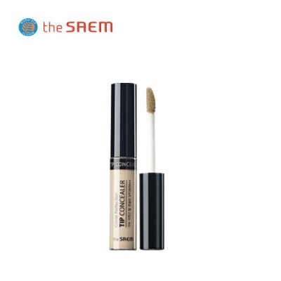 the saem(ザ・セム)カバー パーフェクション チップ コンシーラー(Cover Perfection Tip Concealer) SPF28/PA++ 6.5g/全8色 送料無料...